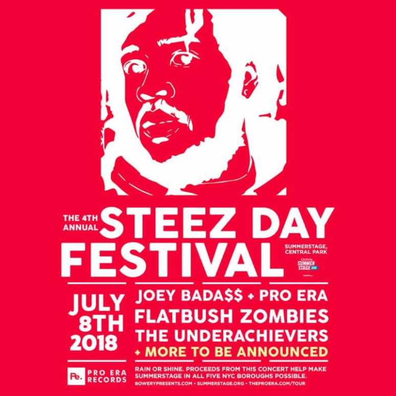Joey+Bada$$+and+Pro+Era+Announce+4th+Annual+STEEZ+Day+Festival
