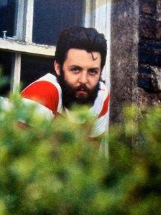 Linda McCartney Photograph of Paul McCartney in Scotland late 60s or early 70s.