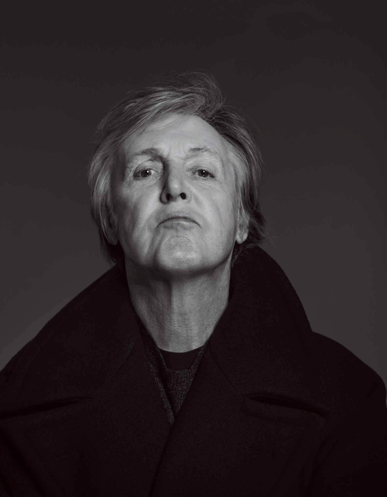 2019 Photo of Sir James Paul McCartney in which he particularly resembles Aleister Crowley, in my opinion.